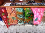 So many scarf choices, and each a piece of art - $25-$30